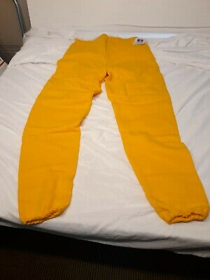 Russell Athletic VTG 90's Yellow NWT NOS Sweatpants Joggers XL MADE USA NEW!