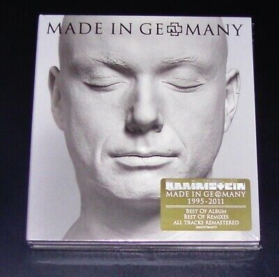 Rammstein Made in Germany 1995 - 2011 Best of Special Edition + Remix CD New