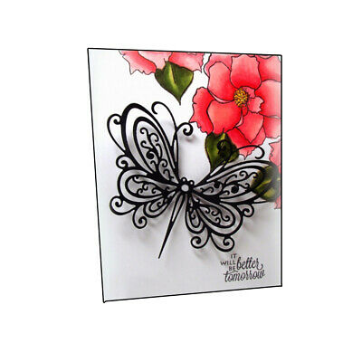 Metal Cutting Dies Butterfly Shape Troquel Flore Cuts Embossing 3D Paper Crafts
