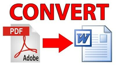 Pro Pdf To Word Converter Text Or Image - Windows Xp, Vista, 7, 8, 10 - Download