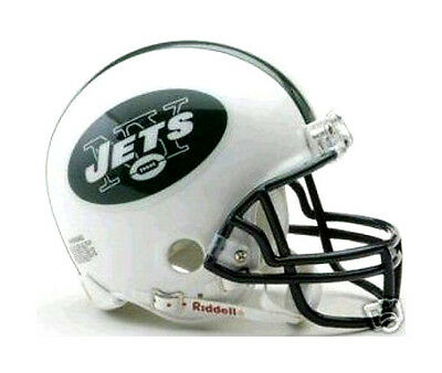 New York Jets Nfl Replica Team Football Mini Helmet