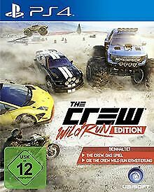 The Crew - Wild Run Edition - [PlayStation 4] von Ubisoft | Game | Zustand gut