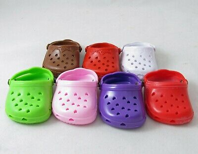 Doll Clothes Rubber Clogs fit 18 Inch American Girl and Boy Dolls