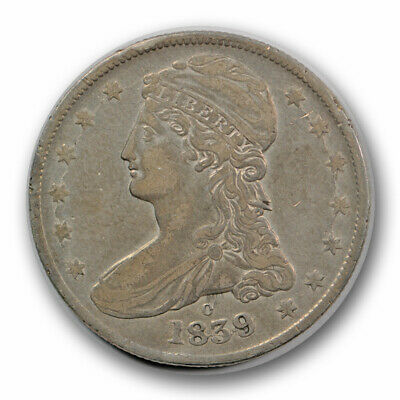 1839 O 50C Capped Bust Half Dollar Very Fine to Extra Fine New Orleans R795