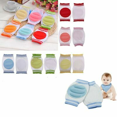Infant Products Safety Cotton Crawling Protector Baby Knee Pads Elbow Cushion