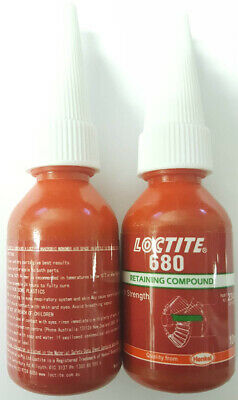 Loctite 680 High Strength Retaining Compound Cylandrical Fitting Adhesive 10 Ml