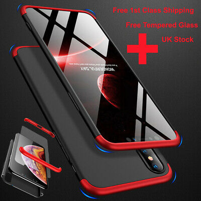 Full Cover Shockproof Hard Case For Apple iPhone 6s 7 8 Plus X XR XS MAX 11 Pro
