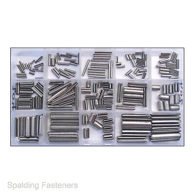 Assorted A2 Stainless Steel Metric Spring Roll Spilt Pins