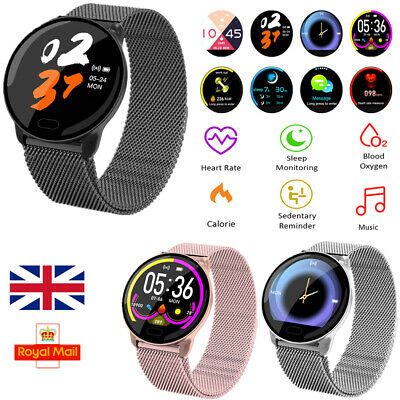 Women Men Waterproof HD Smart Watch Fitness Bracelet For iPhone Android Samsung