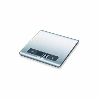 Beurer Kitchen Scales KS 51 5kg Sliver Food Weighing Scales Measure Scales#