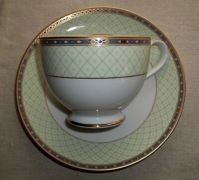 Mikasa ROMAN JEWEL Footed Cup and Saucer