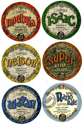 Series of 18 coasters BIRRA BALADIN microbrewery from Italy