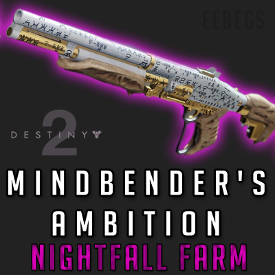 DESTINY 2 MINDBENDERS Ambition Farm 1 hour (Ps4, Xbox One