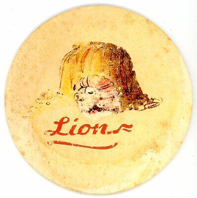 1 OLD coaster BIRRA LION from Italy