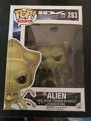 Funko Pop Alien #283 ID4 Independence Day Movies Vaulted