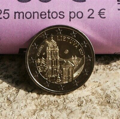 "Lituanie Piece 2 Euro Commemorative 2017 ""Vilnius Capitale Culture Et Art"" Neuve"