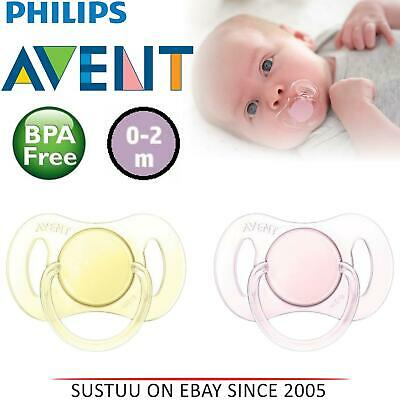Philips AVENT Baby Mini orthodontique Dummy Sucette silicone tétines sucettes 0-2 m