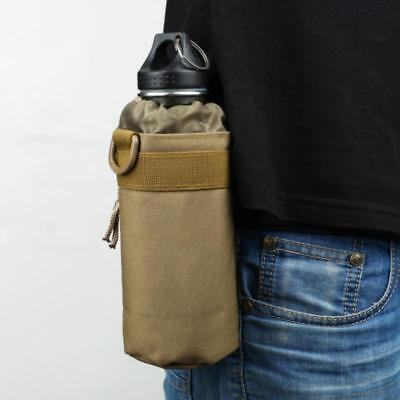 Tactical Molle Water Bottle Bag Military Kettle Nylon Pouch Outdoor Camping W