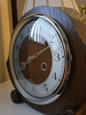Smiths Enfield Vintage Chiming Mantel Clock (1956)