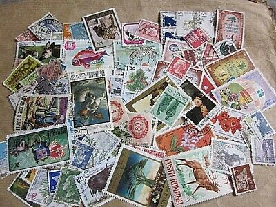 World wide collection.....more than 1000 used stamps off paper