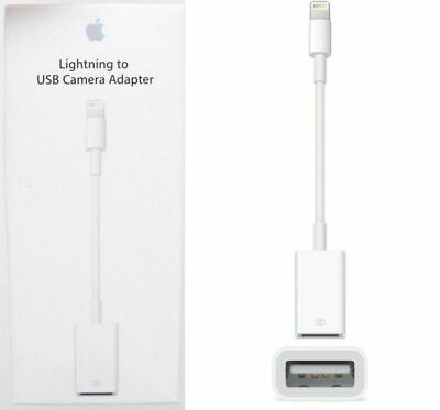 Genuine Apple Lightning to USB Camera Adapter (MD821AM/A) White FREE SHIPPING