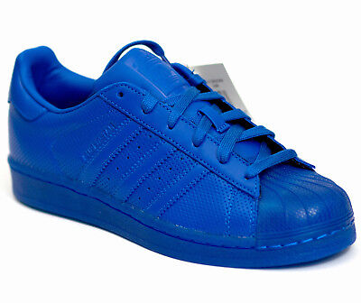 NEU SCHUHE ADIDAS SUPERSTAR J FOUNDATION Weiß Damen