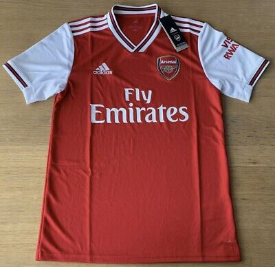 Arsenal Home Shirt 2019-20 Men's Small 100% Genuine BNWT.