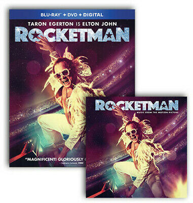Rocketman Br/Lp Bundle (REGION A Blu-ray New) Dummypid
