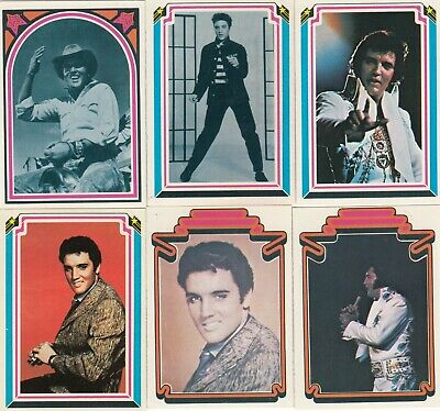 1978 Boxcar Elvis Presley Facts Collectable Trading Card Full Set (66)-Rare