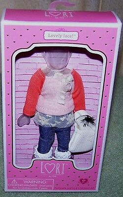 "Lori by Our Generation Lovely Lace Outfit for  6"" Dolls  New"