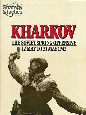 Strategy & Tactics S&T #68 Kharkov Soviet Offensive Unpunched  FS
