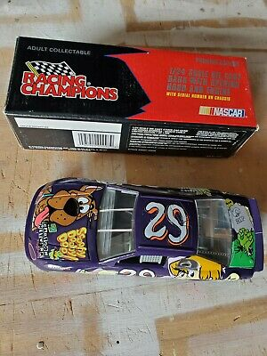 1996 Racing Champions Nascar #29 Scooby Doo 1/24 Scale Die Cast Car Bank