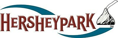 2 Hershey Park One Day Admission Tickets expires 9/02/2019