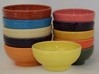 "Fiesta® Large 6"" Footed (Rice) Bowl - 1st Quality - CHOICE of Colors"