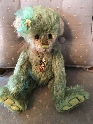 """Charlie Bear SHAMROCK 2019 Isabelle Mohair Collection 11"""" FREE US SHIP"""