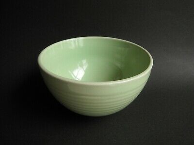 Japanese Rice Bowl CHAWAN Ochazuke Furikake Cereal Yellowish Green Unused #1