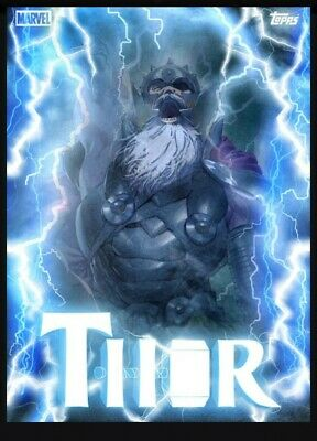 Topps Marvel Collect Card Trader Thorsday All-Father King Thor Motion Week 8