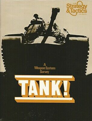 Strategy & Tactics S&T #44 Tank - 20th Century Armored Combat  Unpunched FS