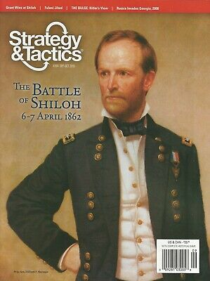 Strategy & Tactics S&T#264 Battle of Shiloh Gettysburg '77 System Unpunched FS
