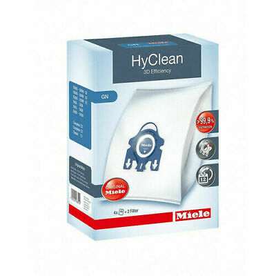Miele Genuine Gn Hyclean 3D Efficiency Vacuum Bags R.r.p $28.90