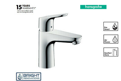 Genuine Hansgrohe Focus Single Lever Basin Mixer