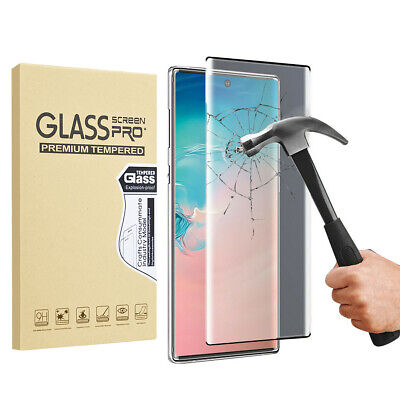 Full Tempered Glass Screen Protector Film For Samsung Galaxy Note 10+ Plus 5G