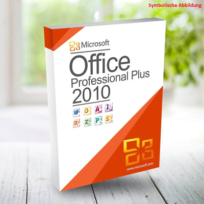 Microsoft Office 2010 Professional Plus 32Bit 64Bit x86 x64 Deutsch Key Download