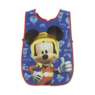 Childrens Kids Boys Mickey Mouse Pvc Painting Craft Cooking Apron Tabard