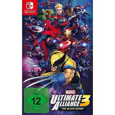 Marvel Ultimate Alliance 3 The Black Order Nintendo Switch Spiel NEU&OVP