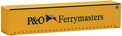 AWM SZ 45 ft Container open side P & O Ferrymasters