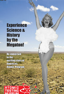 2 Passes To The Atomic Testing Museum In Las Vegas