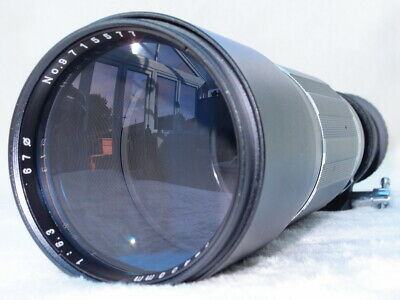 SOLIGOR 400/640mm TELEPHOTO LENS IN CANON EOS MOUNT - WITH ELECTRONIC ADAPTER!