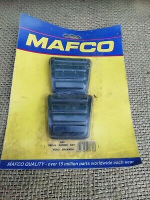 Ford Granada Pedal Rubber Set 1980 On Classic Car Mafco A83 New Old Stock