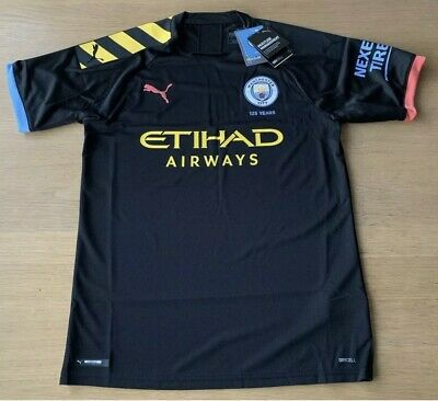 Manchester City Away Shirt 2019-20 Mens Medium 100% Genuine BNWT